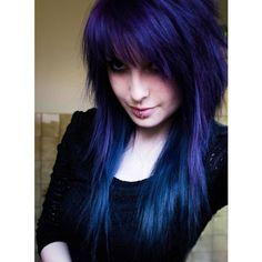 Emo/Scene Girls ❤ liked on Polyvore featuring hair, people, girls and emo hair