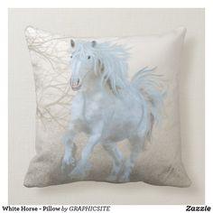 White Horse - Pillow
