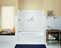 Sterling Acclaim Bath With Place Backers LH Drain