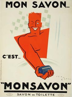Jean Carlu (1900-1997) / Monsavon, 1925
