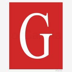 Christmas Initial Letter Monogram G Wall Art PRINT by ofCarola, $8.00  https://www.etsy.com/listing/169455432/christmas-initial-letter-monogram-g-wall?ref=sr_gallery_31&ga_search_query=Digital+Letters&ga_order=date_desc&ga_view_type=gallery&ga_page=22&ga_search_type=all