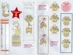 Bookmarks (cross stitch)