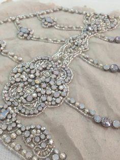 Embellished back on the Catherine Deane   Tallulah gown #bridal #weddingdress