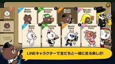 Top Free iPhone App #278: LINE Party Run - NAVER JAPAN by NAVER JAPAN - 03/18/2014