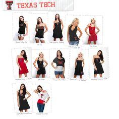 Texas Tech Dresses