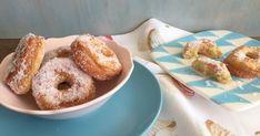 Rosquillas italianas tiernas y rebozadas con azúcar. Dulce tradicional. Pan Dulce, Biscuits, Churros, Bagel, Doughnut, Italian Recipes, Donuts, Deserts, Food And Drink