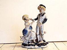 Porcelain figure Art Deco figurine Europe porcelain Great