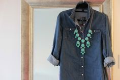 chambray + baubles