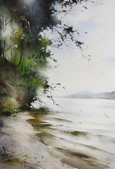 The river bank by Ilya Ibryaev