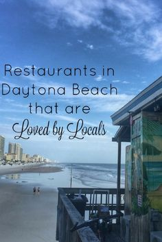 Daytona Beach has lots of dining options for every taste bud. During my first visit to Daytona, I was introduced to several places that I would highly recommend going back… Florida Hotels, Florida Vacation, Florida Travel, Florida Beaches, Vacation Spots, Travel Usa, Travel Info, Travel Stuff, Sandy Beaches