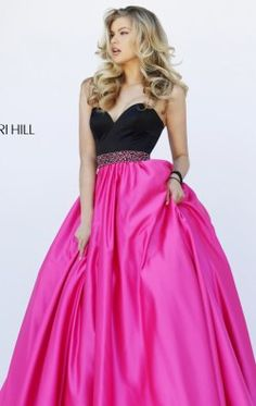 Strapless Ball Gown by Sherri Hill 32324
