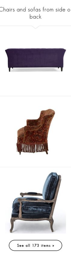 """""""Chairs and sofas from side or back"""" by leaff88 ❤ liked on Polyvore featuring home, furniture, sofas, chesterfield furniture, chesterfield sofa, chesterfield style sofa, chesterfield couch, upholstered sofa, antique settee and upholstery sofa"""