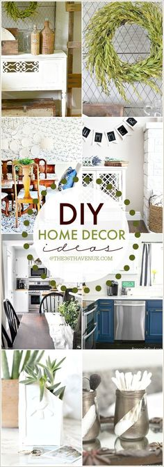 DIY Home Decor Ideas! Cute ideas for decorating your home!