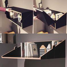 """좋아요 3,970개, 댓글 15개 - Instagram의 db - design bunker(@designbunker)님: """"Two Fold by @studiomichaelhilgers #furniture #furnituredesign #designs #shelf #woodwork #woody…"""""""
