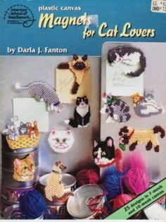 Plastic Canvas Cat Patterns Free | plastic canvas patterns plastic canvas plastic canvas crafts plastic ...