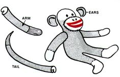 How To Make A Sock Monkey.