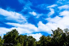 Beautiful clouds at Shakamak State Park in Indiana captured by Wandering Ways Photography 2016