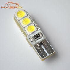 Nice Car LED PCS T WW DC V Canbus SMD Silicone shell LED Lights Bulb