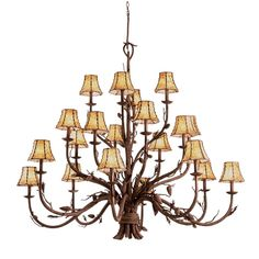 The Ponderosa Indoor Collection is a playful interpretation of traditional lodge lighting. Featuring Kalco's Foyer Chandelier, Antler Chandelier, Chandelier Lighting, Lighting Store, Home Lighting, Rustic Lighting, Large Rustic Chandeliers, Lustre Antique, Ceiling Fan