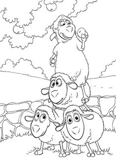 Friends Jakers Piggley Winks Playing Together Coloring Pages
