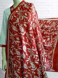 buy Nakshi Kantha Silk Dupatta online at fashionventuresportal.com