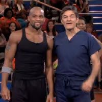 "FREE 15-Minute Insanity Workout with Shaun T on Dr OZ | Start Living Healthier..tried this tonight......two hours later i don't know if this 15 minutes is really that hard if i am that out of shape..My calves are Still on fire! I may buy ""Insanity"" and give it 60 days!"