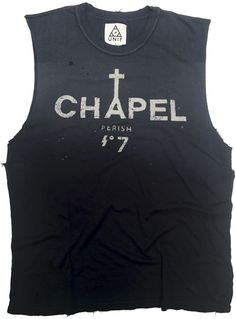 Chapel Sleeveless t-shirt by Unif (men's) - $60 (£37)