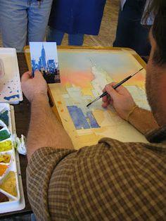 GENIE EVEN: A Paul Jackson Workshop Paul Jackson, Workshop, Watercolor, Water Colors, Pen And Wash, Atelier, Watercolor Painting, Work Shop Garage, Watercolour