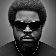 Ice Cube afro style