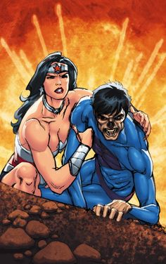 SUPERMAN/WONDER WOMAN #7 Written by CHARLES SOULE Art and cover by PAULO SIQUEIRA 1:25 MAD Variant cover On sale APRIL 9 • 32 pg