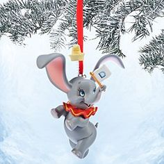 Disney Dumbo Sketchbook Ornament | Disney StoreDumbo Sketchbook Ornament - May we direct your attention high in the family tree where our Dumbo Ornament soars through the holiday season. The baby elephant with oversize ears more than proves his worth as an adorable decoration!
