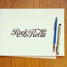 The movie Rock n Rolla done in the style of Coca Cola