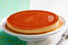 "Cream Cheese Flan recipe - Our cream cheese version is the stuff flan-tasies are made of. With reviews like ""GREAT GREAT GREAT!"" you'll want to keep this recipe in mind when it's time to wow guests."
