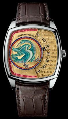 Vacheron Constantin Métiers d'Art Savoirs Enluminés Watches With 'Illuminated' Dials