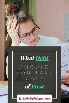 What Debt Should You Take Care of First Ways To Save Money, Money Saving Tips, Money Tips, College Student Budget, Low Interest Loans, Setting Up A Budget, Manifesting Money, Finance Blog, Get Out Of Debt