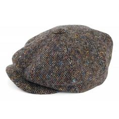 0e88354d446 City Sport Donegal Tweed Marl Newsboy Cap - Multi from Village Hats.  Donegal