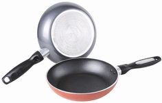 Gourmet Chef Heavy Duty 12 Inch Non Stick Fry Pan, Red ** To view further for this item, visit the image link.