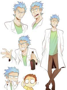 Rick and Morty | Moosoppart Tumblr