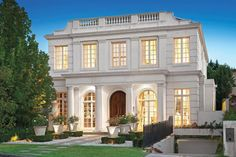 View property information for 8 Maxwell Court, Toorak VIC 3142 which contains sold & rental history, nearby schools and median prices for Toorak VIC 3142 Classic House Exterior, French Exterior, Classic House Design, New Classical Architecture, Facade Architecture, Facade Design, Exterior Design, House Outside Design, House Elevation
