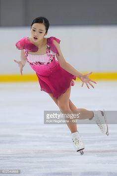 ニュース写真 : Marin Honda of Japan competes in the junior...