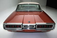 1965 Thunderbird Emberglo Special Landau edition from behind