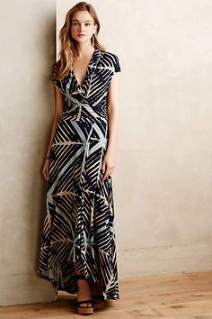 Desert Star Maxi Dress - anthropologie.com