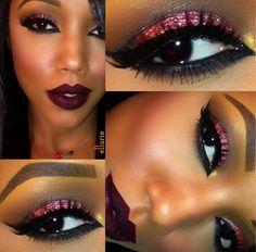 Make up for black girl