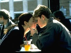 Matt Damon and Minnie Driver in Good Will Hunting (Gus Van Sant, Minnie Driver, Good Will Hunting Movie, Movies Showing, Movies And Tv Shows, Yasmina Reza, Romance, Robin Williams, Movie Trailers, Movie Quotes