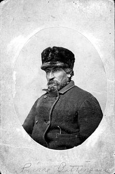 Pierre Bottineau, the French-Canadian fur-trapper and explorer for whom Bottineau, ND is named. Date unknown. My Family History, World History, North Dakota, North America, Fur Trade, Indian Pictures, Fun World, Red River, Le Far West