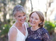 Bride and Mother of the Bride. Bridal Makeup. Southern Wedding. #BSBMakeup. #BSBBride. #BSBMOB.