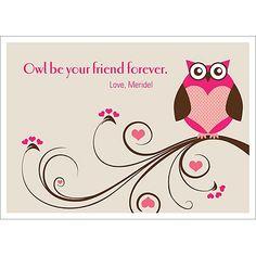Owl Valentine's Day