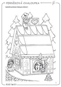 Pracovní sešity KuliFerda (5–7 let) pro MŠ Class Activities, Holidays And Events, Coloring Pages, Fairy Tales, Crafts For Kids, Preschool, Christmas Decorations, Education, Halloween