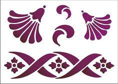 Razgovarajte s LiveInternet - ruske USLUGA online dnevnike Printable Stencil Patterns, Cement Art, Peacock Painting, Damask Stencil, Letter Stencils, Stencil Designs, Animal Design, Quilling, Coloring Books