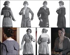 Fashion Equity: range of motion, mobility, action: the ladies of 1917 are everywhere (and upstairs meets downstairs like never before).